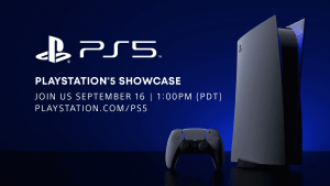 Sony Announced Live Event for PlayStation 5 Showcase on September 16