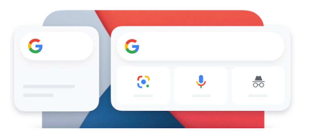 Google added a Search Widget in iOS 14 and Chrome and Gmail gets default apps support