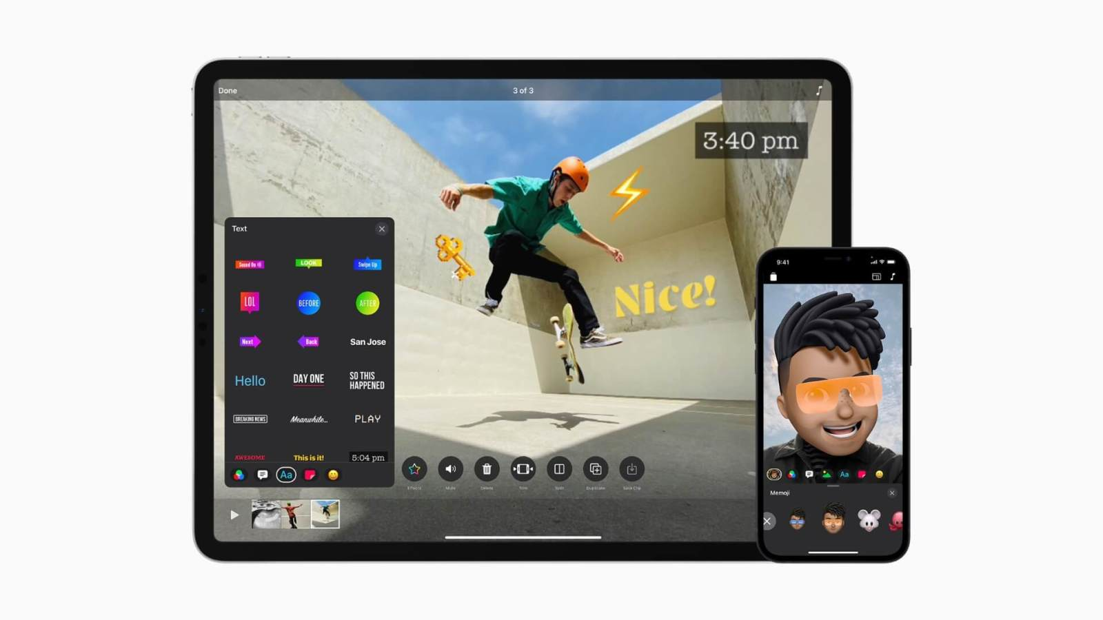 Apple Updates Clips App to Support for Vertical and Horizontal Video, HDR Recording with iPhone 12, and New Interface