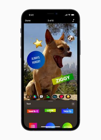 Apple Updates Clips App to Support for Verticle and Horizontal Video, HDR Recording with iPhone 12, and New Interface