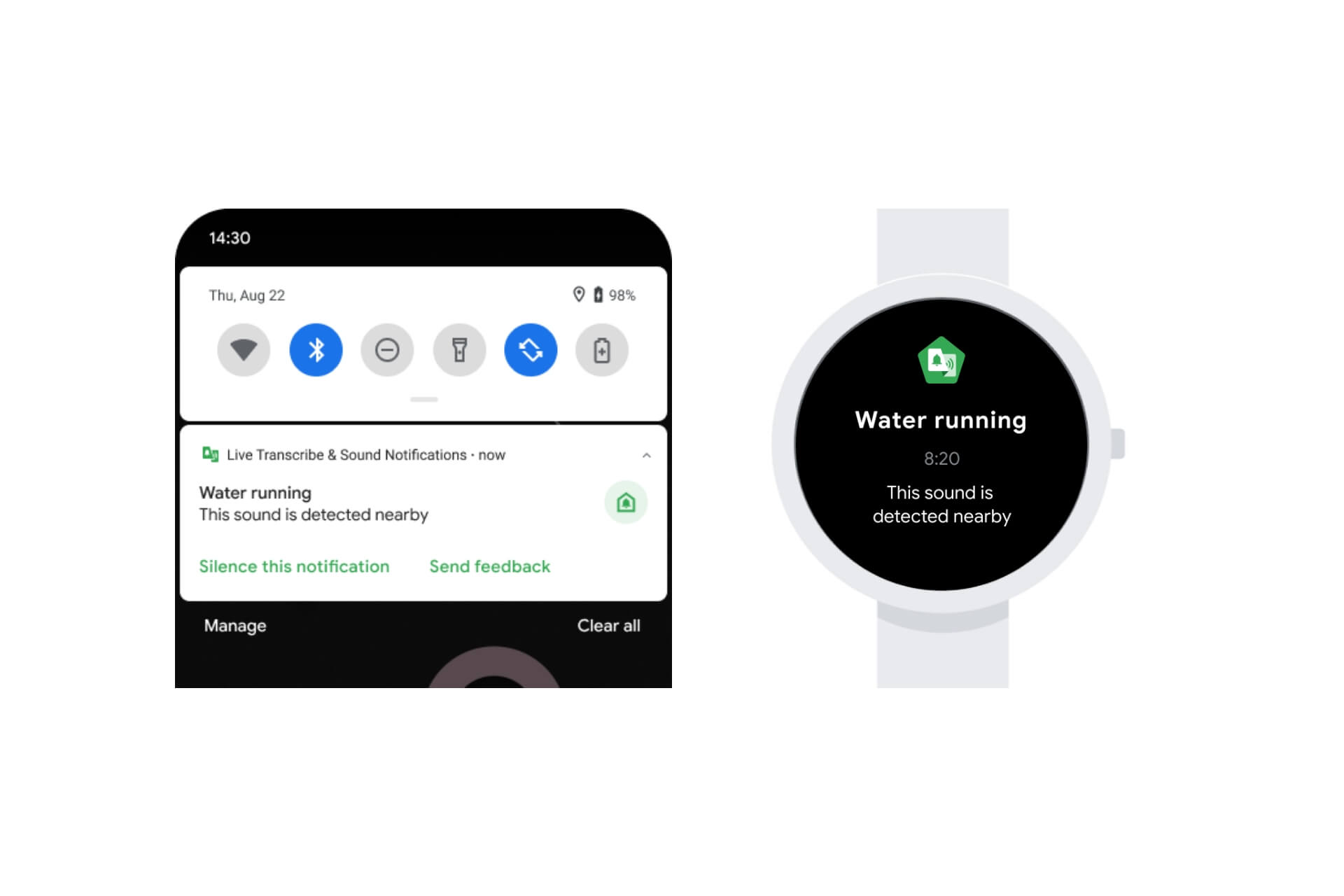Google introduced a new Sound Notifications feature on Android to push notifications for critical sounds around you