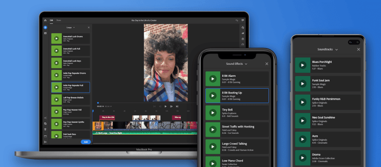 Adobe Premiere Rush Updated With New Graphics and Audio Library, and More