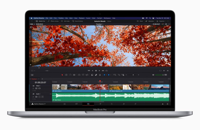 Apple updates 13-inch MacBook Pro with M1 chip