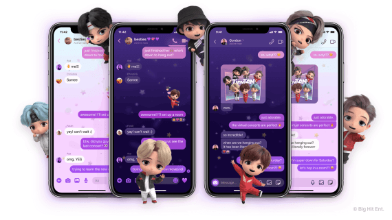 How to activate TinyTAN chat theme on Messenger and Instagram