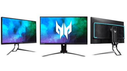 Acer Announced Three New Gaming Monitors with High Refresh Rate