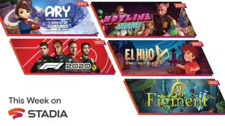 Stadia announced five new free games for Stadia Pro subscribers