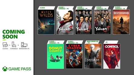 Yakuza Remastered Collection, The Medium, Cyber Shadow, and More Games Are Coming To Xbox Game Pass