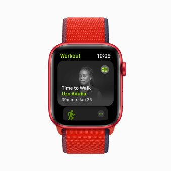 """Apple Launches """"Time to Walk"""" Feature on Apple Watch For Fitness+ Subscribers"""