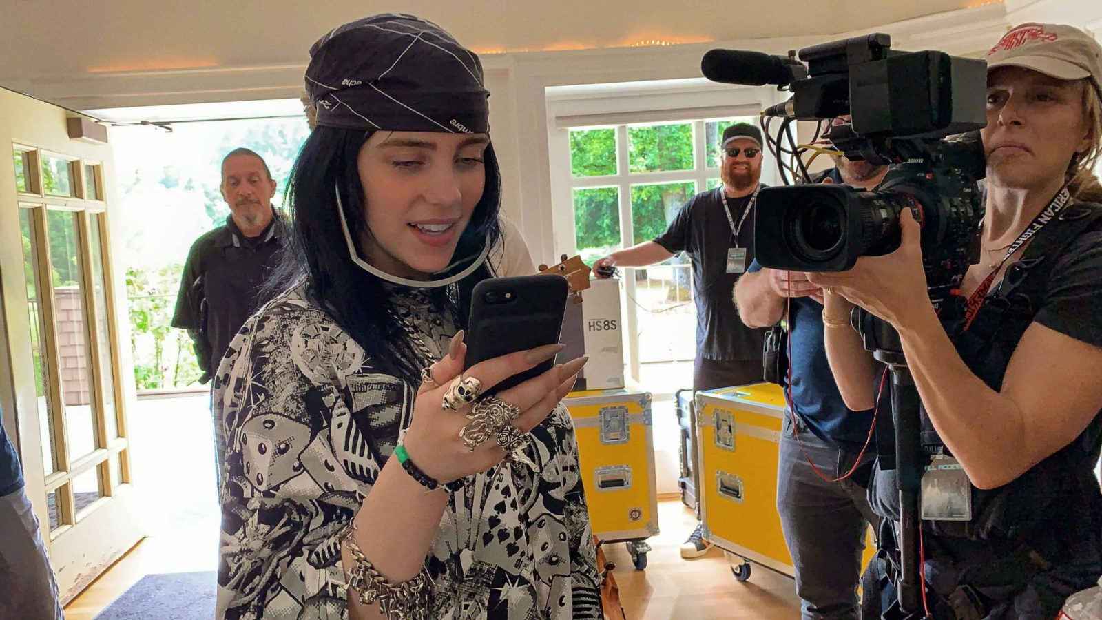 """Apple TV+ Premiering """"Billie Eilish: The World's A Little Blurry"""" Live Event On February 25"""