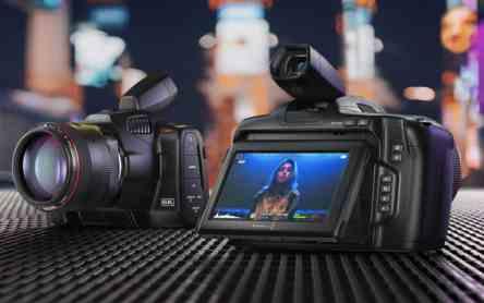 Blackmagic Design announced the new Blackmagic Pocket Cinema Camera 6K Pro