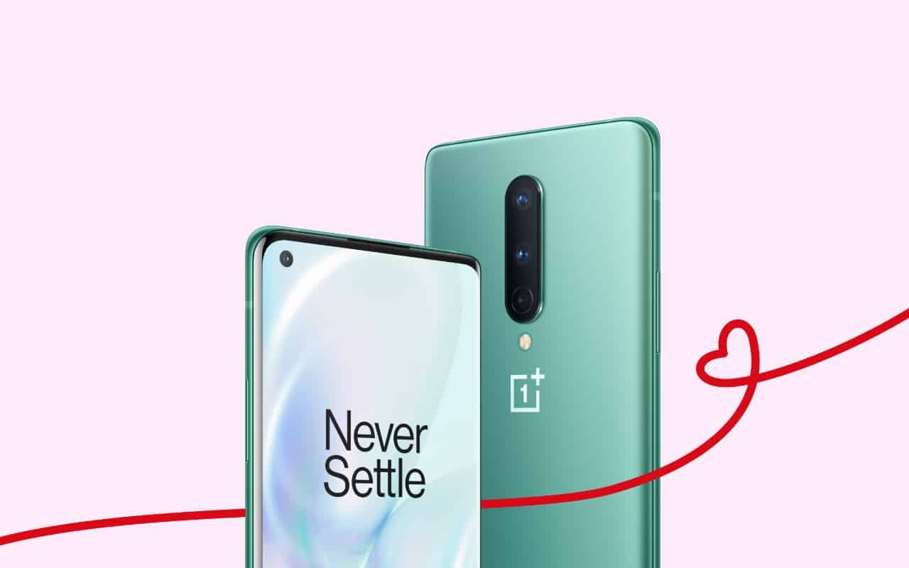 Get $100 OFF on OnePlus 8 for a Limited Period [Valentine Special]
