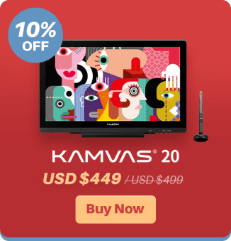 Save up to 28% on Huion products