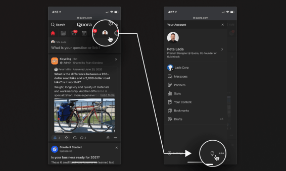 Quora Added Dark Mode to Desktop and Mobile web