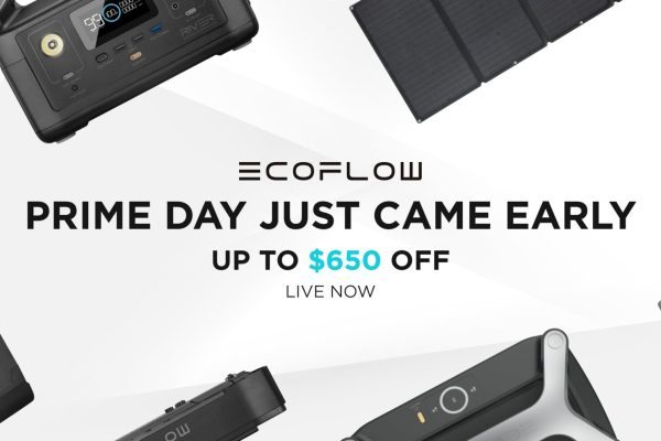 Get up to $650 off On EcoFlow Power Stations and Solar Panel