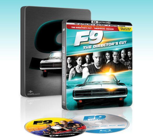 Get $10 back on F9: The Fast Saga 4K SteelBook (Digital Copy)