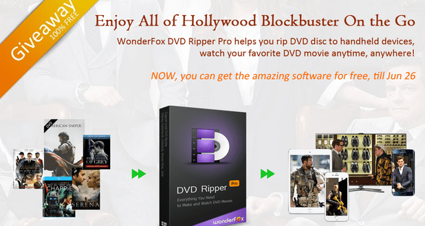 WonderFox DVD Ripper Pro, Free Download Till July 5
