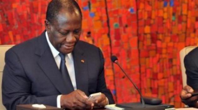 Alassane Dramane Ouattara, chef de l