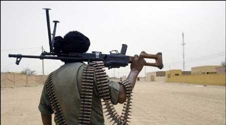 Rebelle Touareg au Mali.