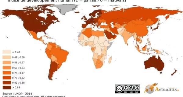 Scandale/Indice de developpement humain: La Côte d'Ivoire occupe la 170e place sur 189 derrière le Lesotho et la Mauritanie