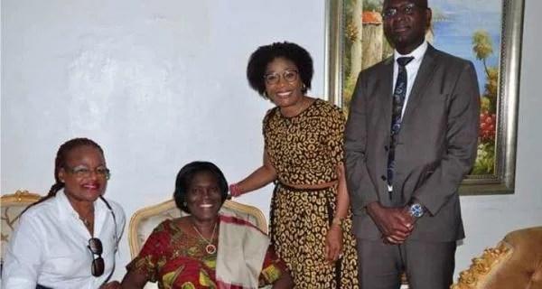Côte d'Ivoire : Mme Simone Gbagbo reçoit la représentante du FPI en France