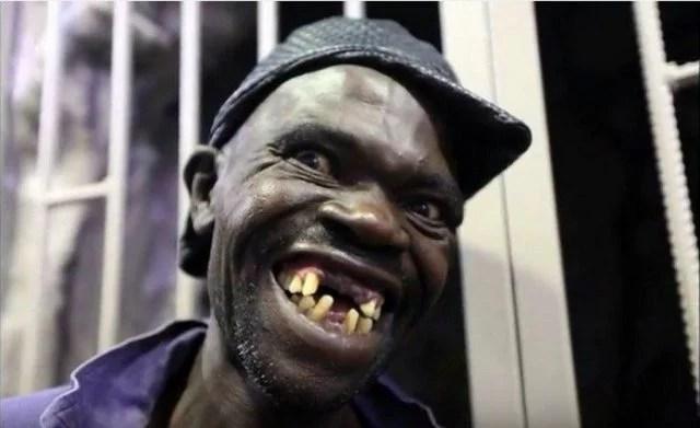 Mister Moche : Voici Maison Sere, le grand gagnant du concours de l'homme le plus laid du Zimbabwe