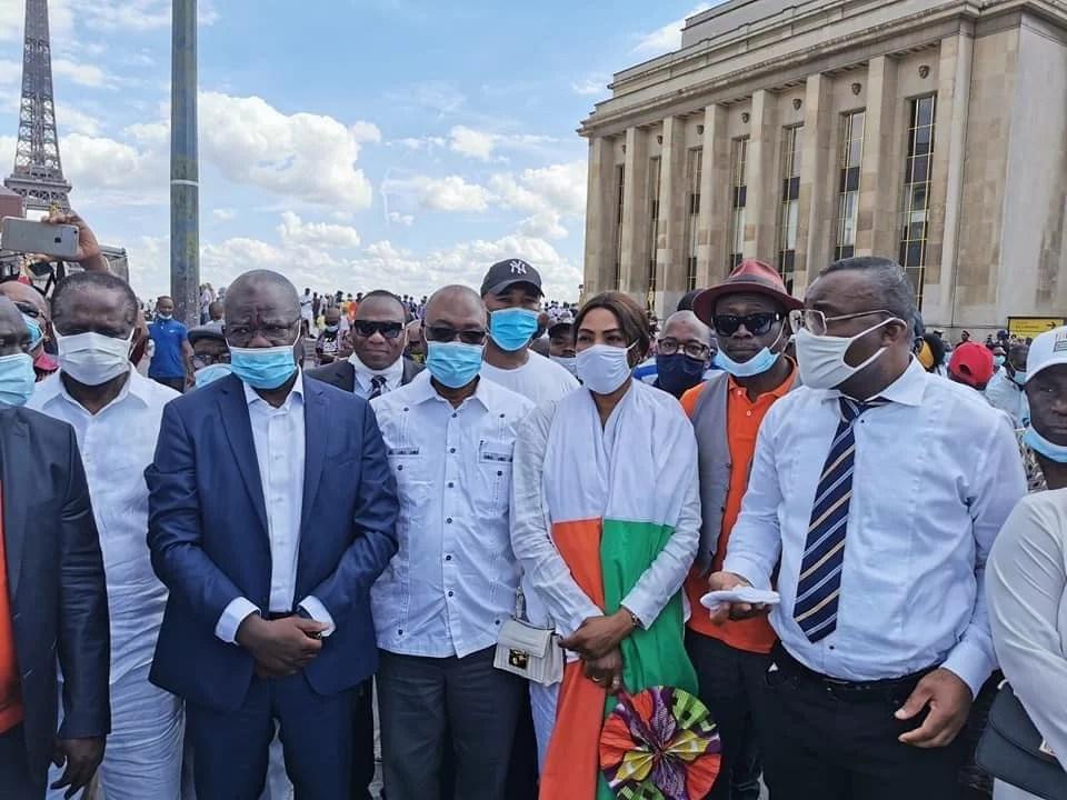 Affoussiata Bamba à Ouattara depuis Paris : « l'heure des discours est finie, nous allons libérer notre pays »