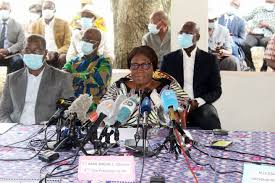 MADAME SIMONE EHIVET GBAGBO REPREND SES ACTIVITÉS POLITIQUES APRES SA GUERISON DE LA COVID-19