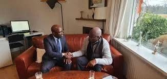 Pays Bas : Le père de Didier Drogba rend visite à Blé Goudé