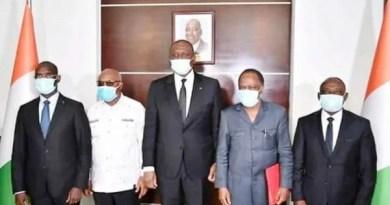 Deux émissaires du président Laurent Gbagbo ont été reçus par le premier ministre Hamed Bakayoko ce mercredi 06 janvier 2021