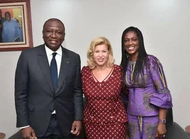 Dominique Ouattara réagit suite au décès d'Hamed Bakayoko