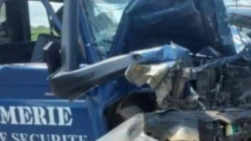 Urgent: la gendarmerie perd un chef d'escadron dans un grave accident
