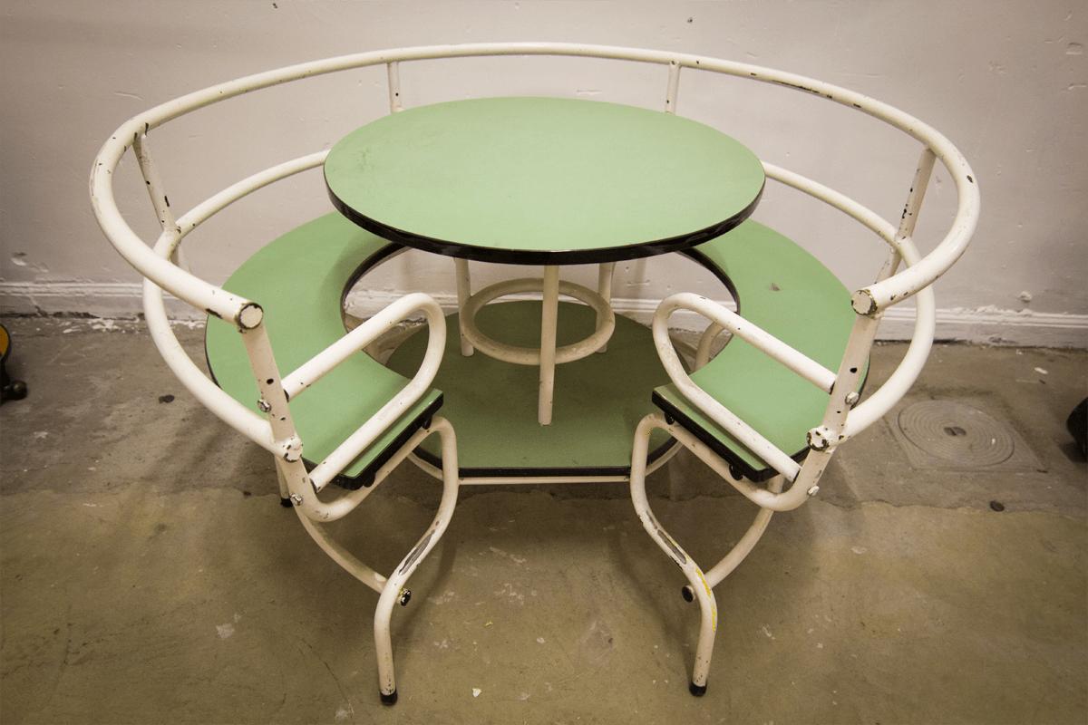 Vintage kindertafel