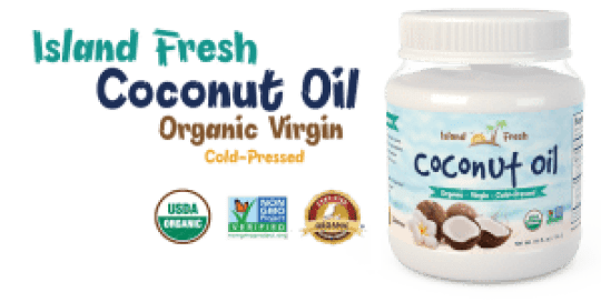 coconut oil pressed