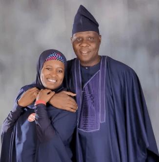 Image result for aisha yesufu and husband
