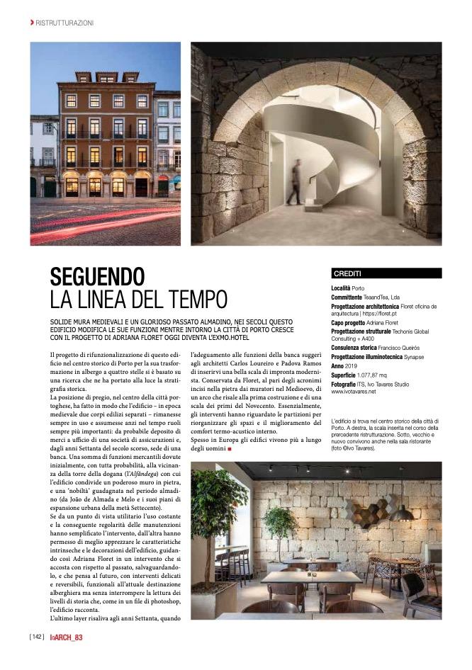 Ioarch Exmo Hotel Porto Floret Arquitectura Ivo Tavares Studio 1 do fotografo Ivo Tavares Studio