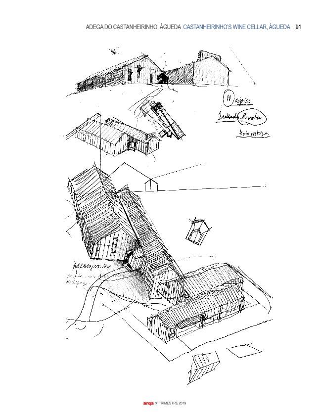 Revista Arqa 135 Arquitecto Joao Albano Adega 6 6 do fotografo Ivo Tavares Studio