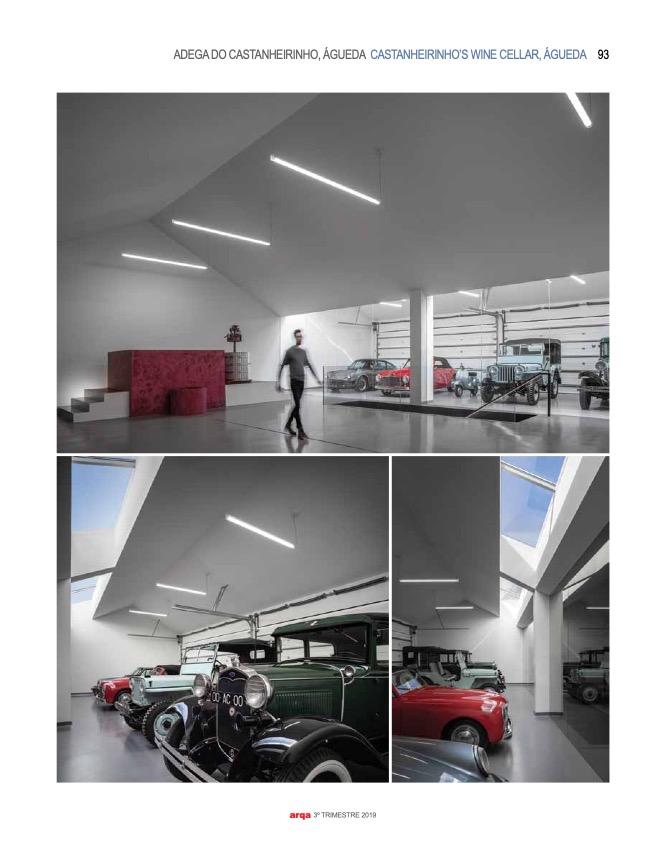 Revista Arqa 135 Arquitecto Joao Albano Adega 8 8 do fotografo Ivo Tavares Studio