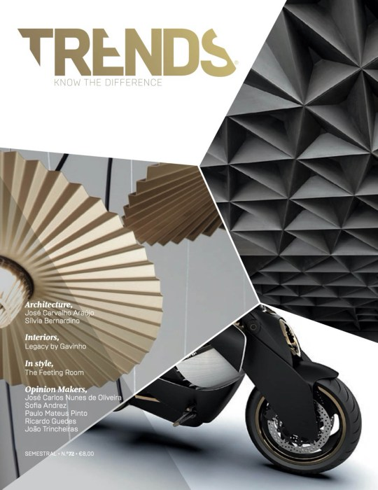 Revista Trends de arquitectura portuguesa publica projecto do at