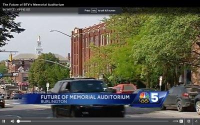 NBC 5, The Future of Memorial Auditorium