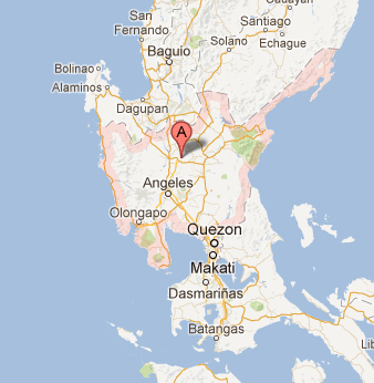 Map of Region 3 (Central Luzon) Official Candidates 2013 Elections