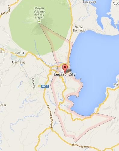 Map of Legazpi City | 2013 Legazpi City Barangay Elections