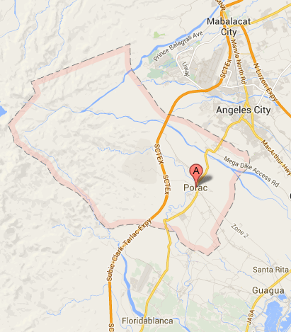 Porac Barangay Elections Results Halalan - Porac map