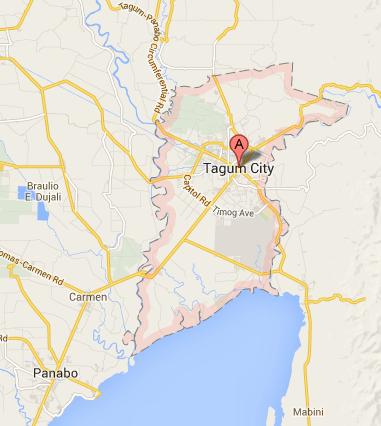 Map of Tagum City | Tagum Barangay Elections 2013