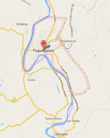 Map of Tuguegarao City | Tuguegarao City Barangay Elections 2013