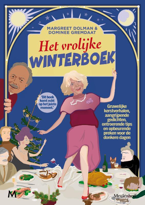 Het vrolijke winterboek Boek omslag