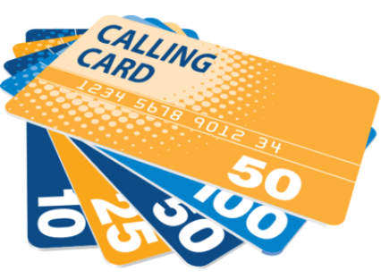 Image result for calling cards