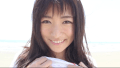 ★HOSHINO ビーチで青白ストライプビキニで走り回ったりして巨乳を見せつける