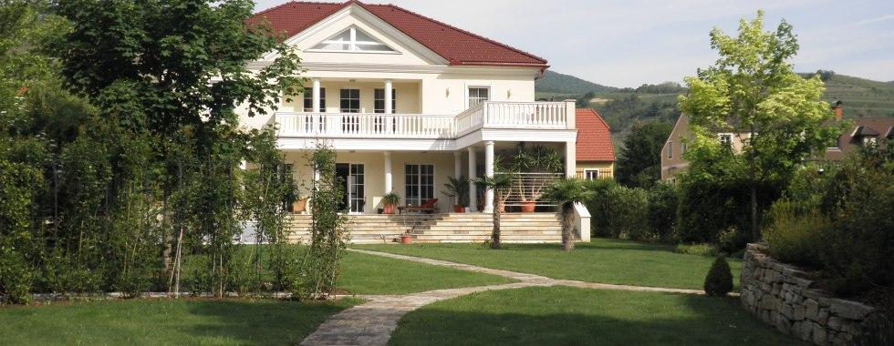 Landhausvilla mit Donaublick in der Wachau