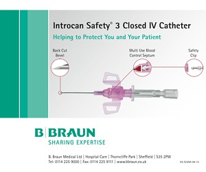 Safety IV catheter