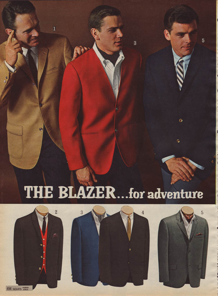 Image result for 1960s ivy blazer